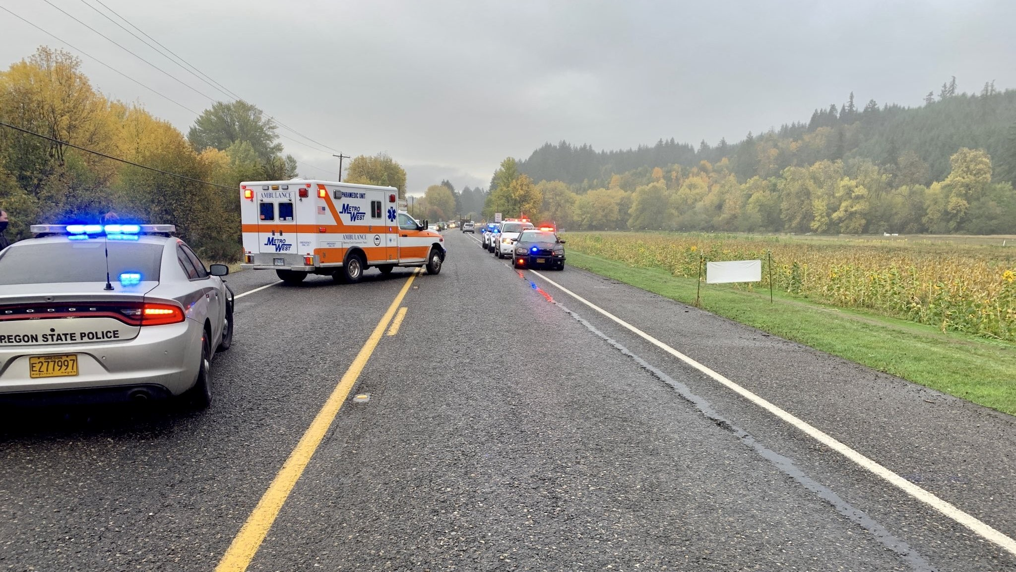 Fatal crash Hwy 26